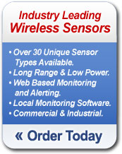 Order Industry Leading Wireless Sensors