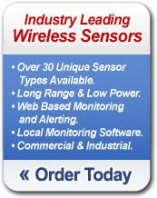 Order Industry Leading Wireless Sensors