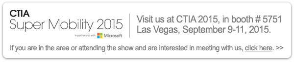 Visit Monnit at booth #5751 at CTIA in Las Vegas, September 9-11, 2015