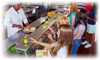 School Cafeteria Walk-In Cooler Monitoring