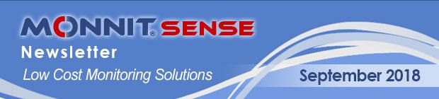 MonnitSense Newsletter - September 2018