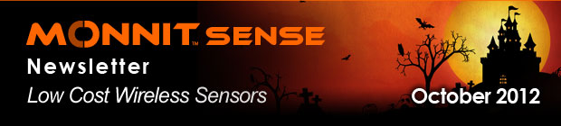 MonnitSense Newsletter - October 2012