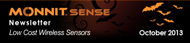 MonnitSense Newsletter - October 2013