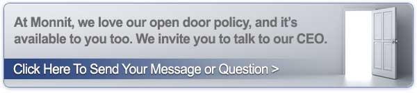 Monnit Open Door Policy