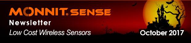 MonnitSense Newsletter - October 2017