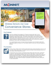 Monnit - Wireless Sensors Use Case for Convenience Store Monitoring