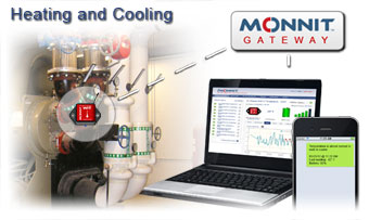 Heating and Cooling System Temperature Monitoring