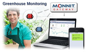 Monitor Greenhouse Temperature and Humidity