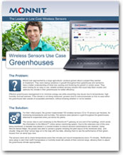 Monnit - Wireless Sensors Use Case for Greenhouse Monitoring