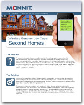 Monnit - Wireless Sensors Use Case for Second Home Monitoring